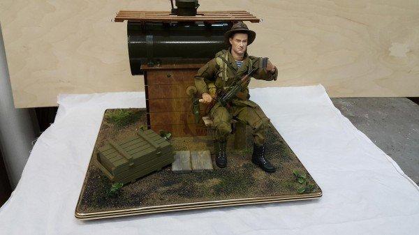 Подарок наливайка солдат 8
