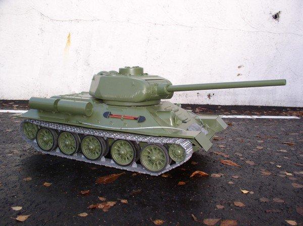 Радиоуправляемая модель танка т-34-85 своими руками